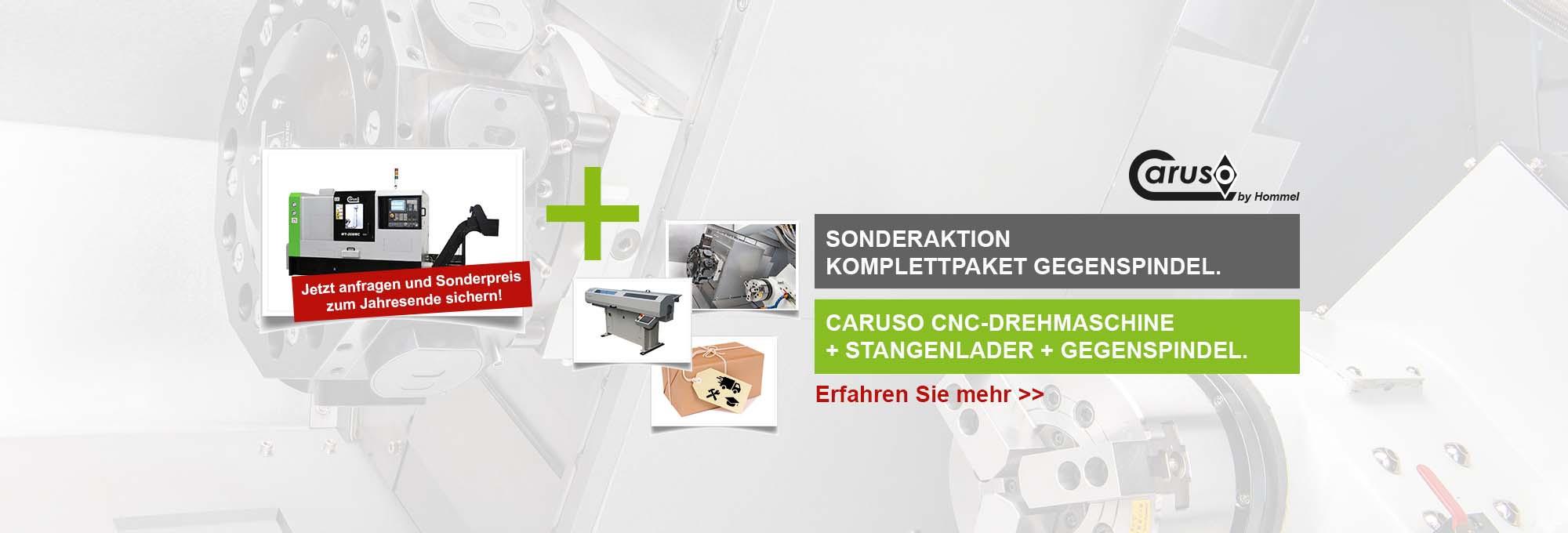 Slider Komplettpaket Caruso MT208MC Gegenspindel
