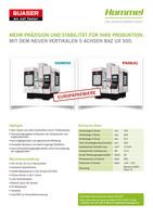 Sonderaktion Bearbeitungszentrum Quaser UX500